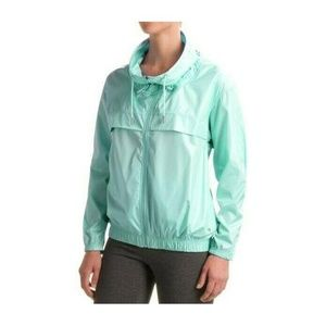 Layer 8 Studio Shine Mint Green Windbreaker Jacket